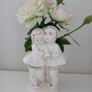 Shabby Chic Look Vintage Vase Oh So Sweet!